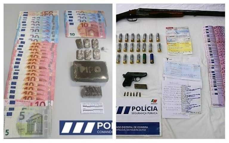 Jornal Campeão: Dois detidos por tráfico de droga e posse de armas
