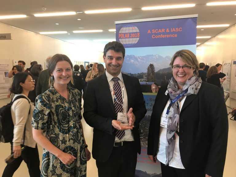 Jornal Campeão: Cientista polar da UC vence prémio internacional