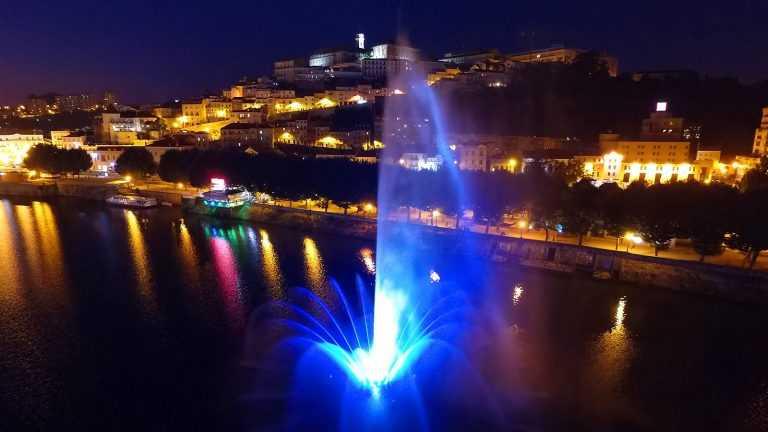 Jornal Campeão: Água, luz e som no Mondego complementam as Festas da Cidade