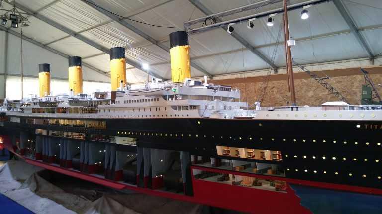 """Jornal Campeão: Titanic """"encalhado"""" até domingo no Exploratório"""