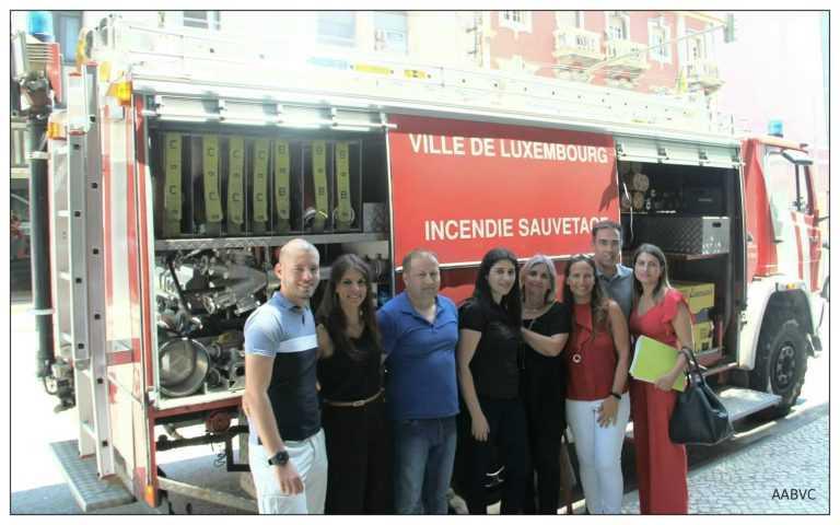 """Jornal Campeão: Entrega """"atribulada"""" de donativo aos Bombeiros Voluntários de Coimbra"""