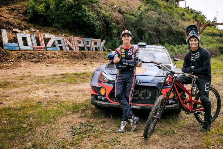 """Jornal Campeão: Estrelas de WRC e de 'mountain bike' """"enfrentaram-se"""" na Lousã"""