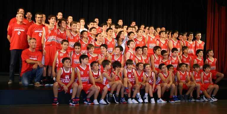 Jornal Campeão: Figueira da Foz: Ginásio apresentou equipas de basquetebol