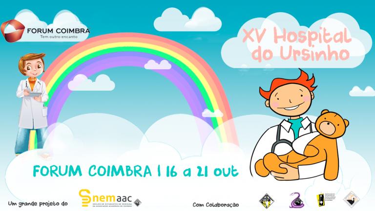 """Jornal Campeão: Forum Coimbra recebe """"Hospital do Ursinho"""""""