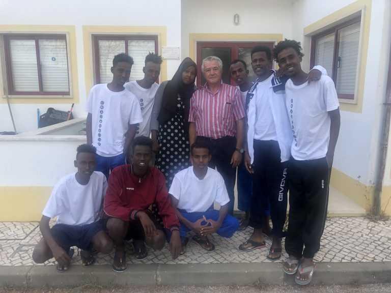 Jornal Campeão: Miranda do Corvo: ADFP recebe nove refugiados da Somália