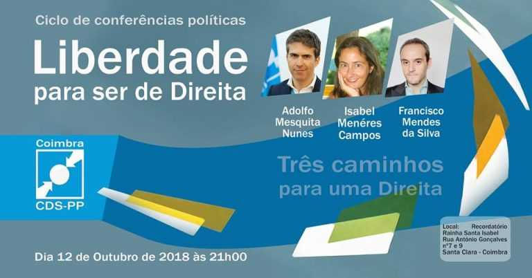 """Jornal Campeão: """"Liberdade para ser de Direita"""" debatida em Coimbra"""