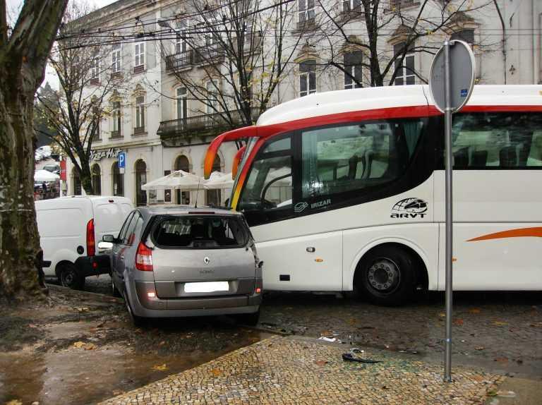 Jornal Campeão: Coimbra: Autocarro imobilizado condiciona os SMTUC