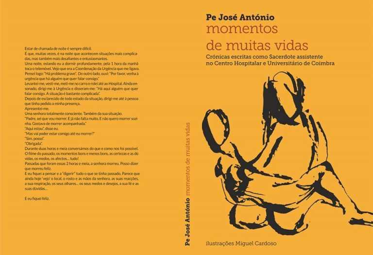 """Jornal Campeão: CHUC: Padre José António lança """"Momentos de muitas vidas"""""""