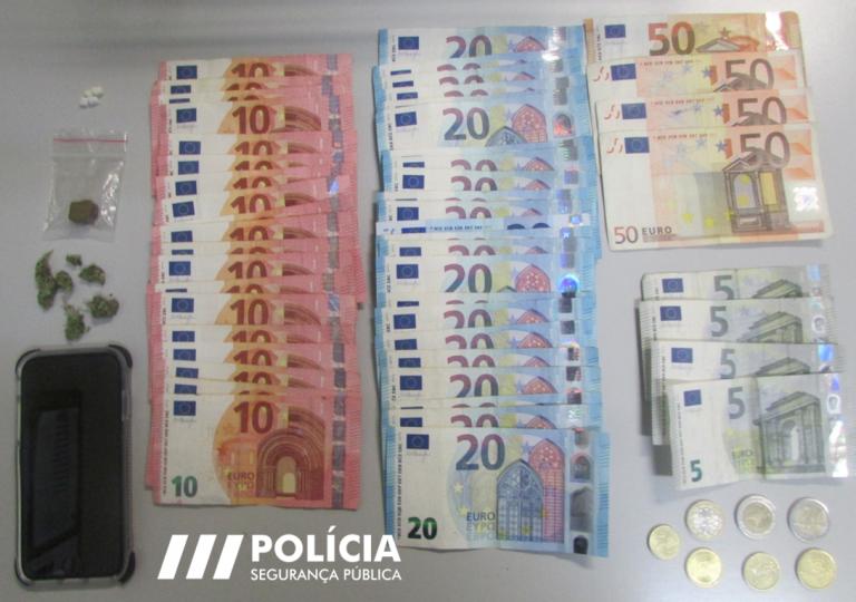Jornal Campeão: PSP apreende droga e dinheiro em busca domiciliária em Coimbra