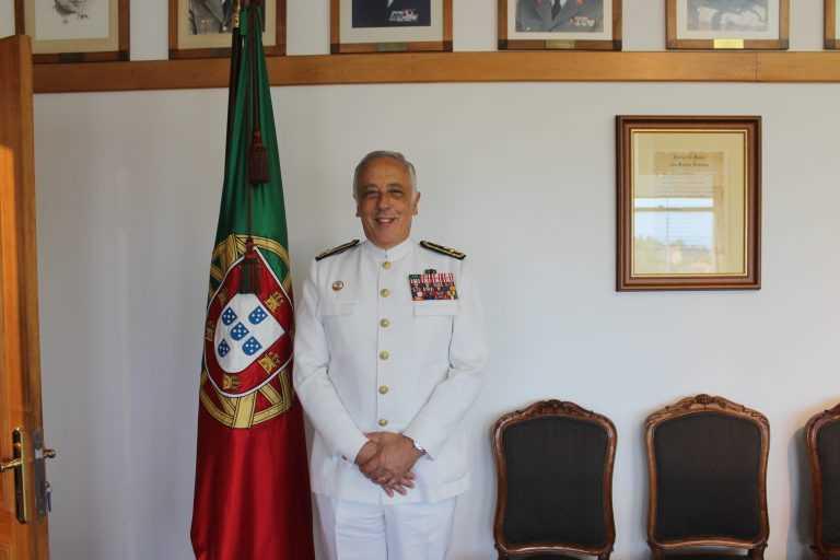 Jornal Campeão: Almirante Silva Ribeiro reconduzido Chefe do Estado-Maior General das Forças Armadas