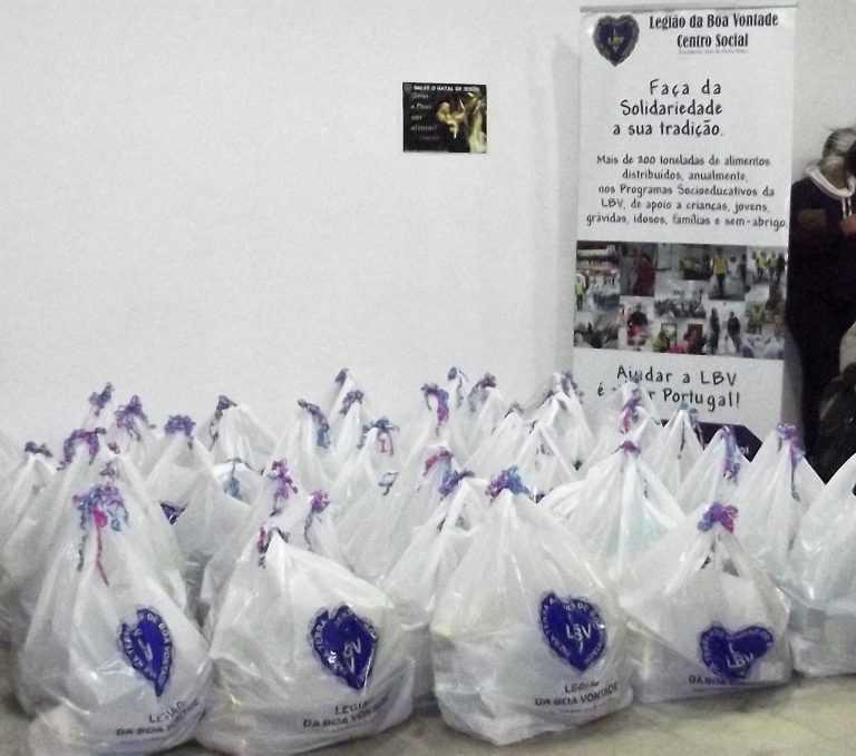 Jornal Campeão: LBV ajuda a melhorar o Natal de 100 famílias conimbricenses