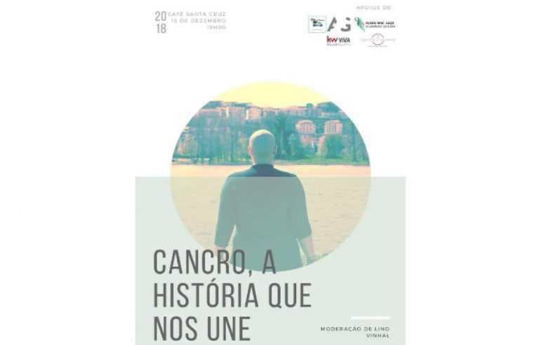 """Jornal Campeão: """"Cancro, a História que nos une"""" apresentado no café de Santa Cruz"""