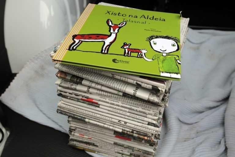 Jornal Campeão: Crianças lousanenses recebem livro de Natal sobre o Talasnal