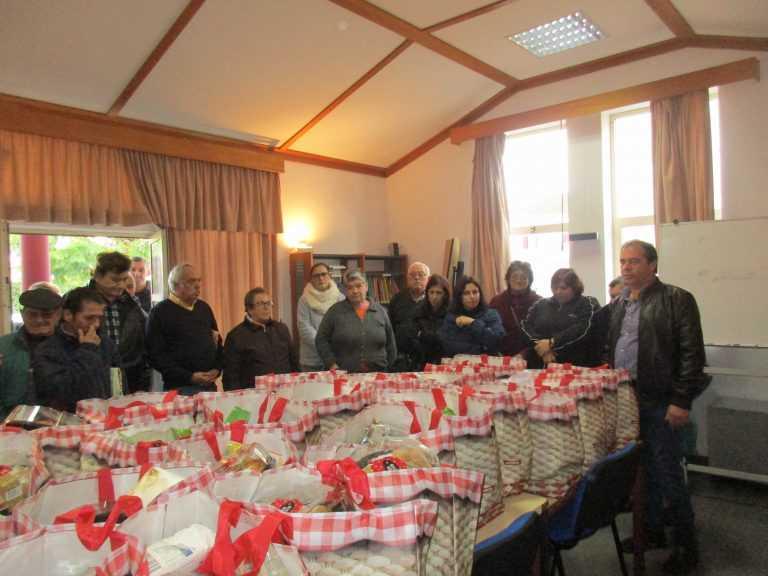 Jornal Campeão: Taveiro, Ameal e Arzila: UF entrega cabazes de Natal