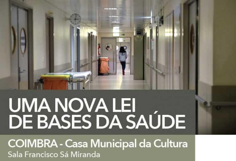 Jornal Campeão: Coimbra: BE debate nova Lei de Bases da Saúde