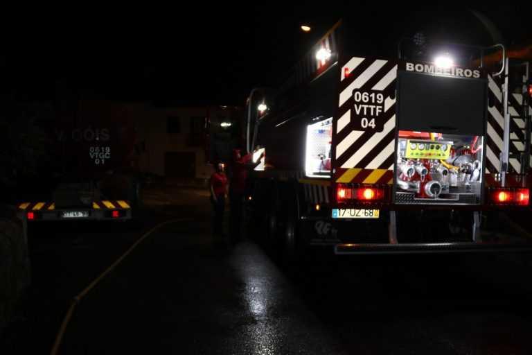 Jornal Campeão: Góis: Incêndio destrói habitação e faz três desalojados