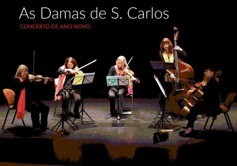 Jornal Campeão: Miranda do Corvo: Damas de São Carlos em concerto de Ano Novo
