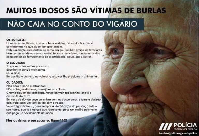 Jornal Campeão: Coimbra: Idosa entregou cartão e código a falso bancário