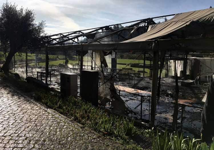 Jornal Campeão: Penela: Incêndio em tenda de eventos junto a hotel provoca dois feridos