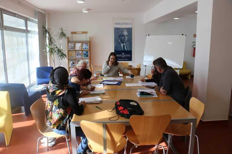 Jornal Campeão: Estrangeiros aprendem português na Pampilhosa da Serra