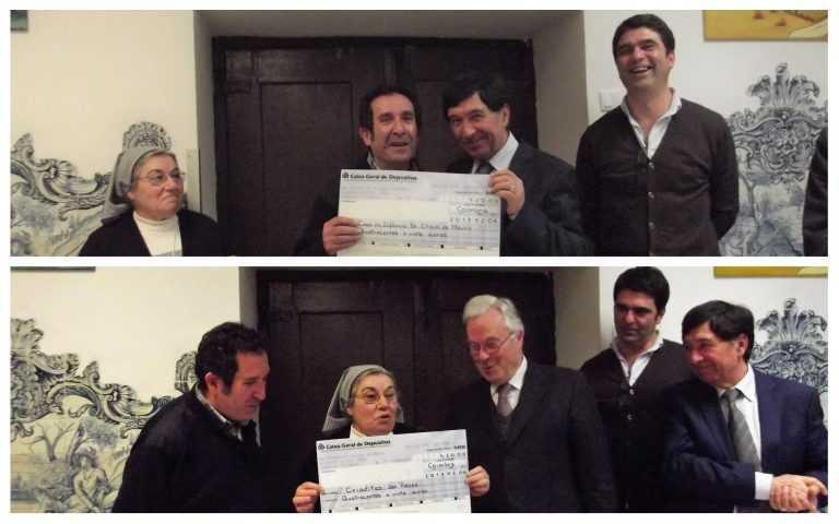 Jornal Campeão: APBC entrega donativos à Casa da Infância e Criaditas dos Pobres