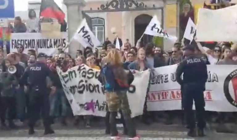 Jornal Campeão: Coimbra: Antifascistas 'abafam' manifestação do PNR contra Jean Wyllys
