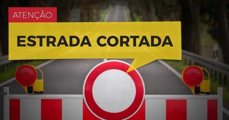 Jornal Campeão: Derrocada provoca corte de estrada em Penacova (EN 110)