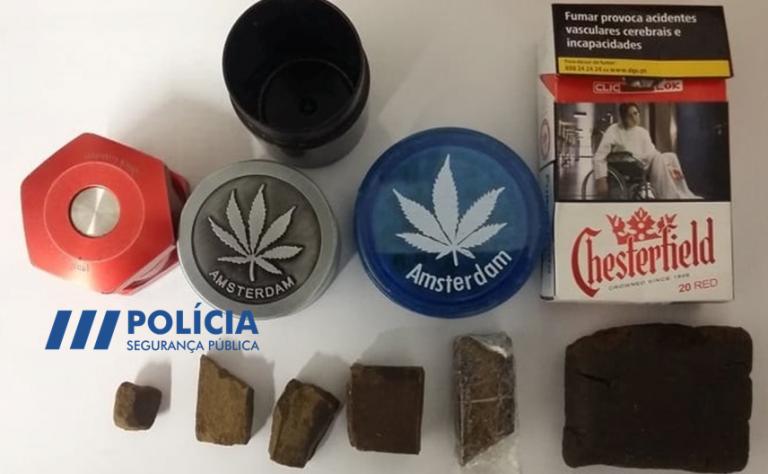 Jornal Campeão: Dois jovens detidos por posse de arma proibida e tráfico de droga