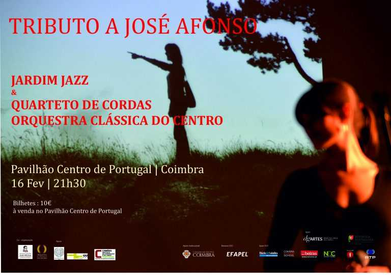 Jornal Campeão: Coimbra: Jardim Jazz faz 'Tributo a José Afonso'