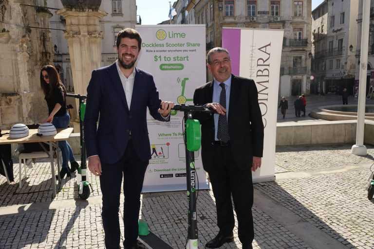 Jornal Campeão: Trotinetes eléctricas chegam a Coimbra em Março
