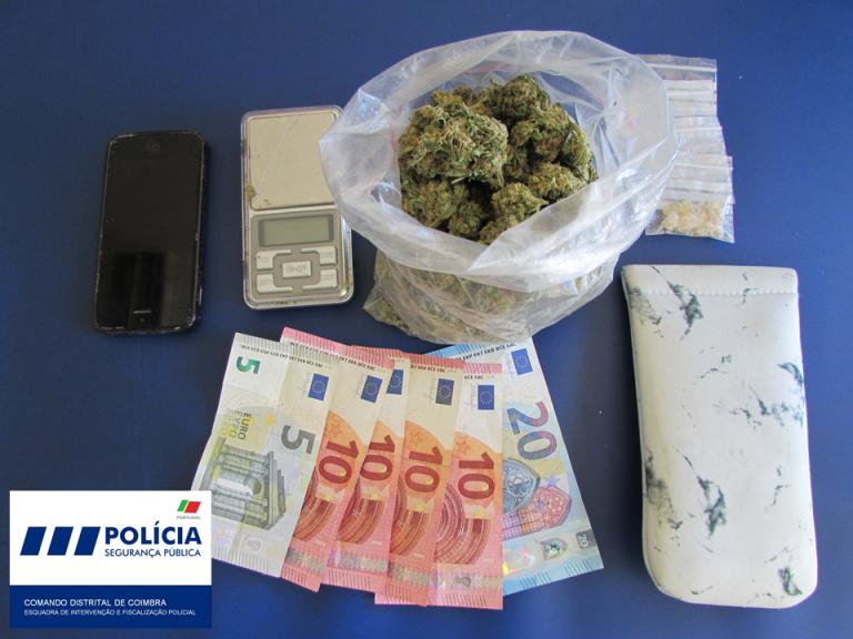 Jornal Campeão: PSP deteve três jovens por tráfico de droga em Coimbra