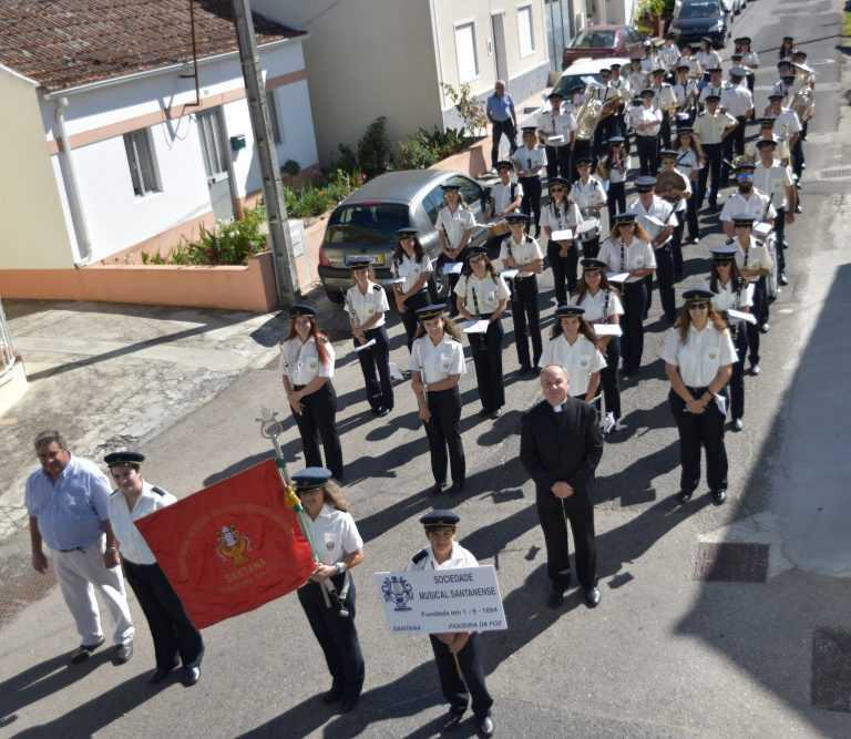 Jornal Campeão: Figueira da Foz: Sociedade Musical Santanense comemora 127 anos