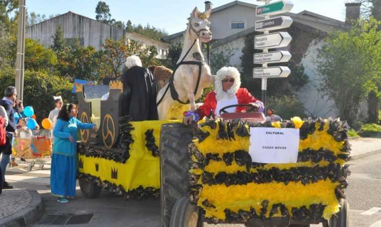 Jornal Campeão: Carnaval intergeracional em S. Martinho do Bispo