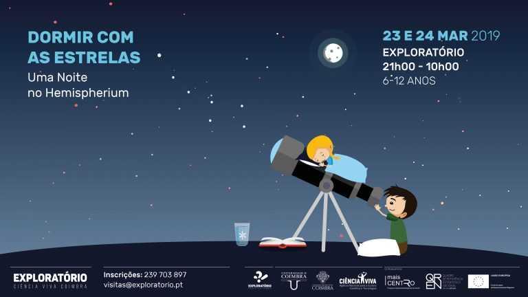 """Jornal Campeão: Exploratório convida crianças a """"Dormir com as estrelas"""""""