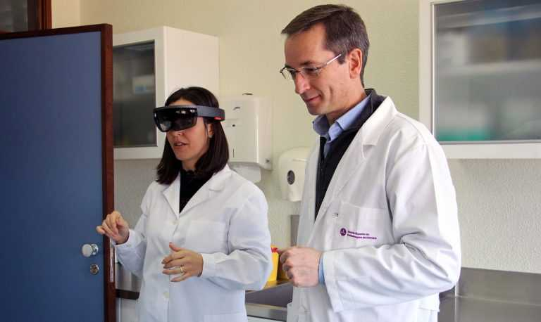 Jornal Campeão: Escola em Coimbra inclui realidade aumentada no ensino de enfermagem