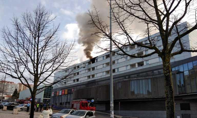 Jornal Campeão: Incêndio em residência, junto ao Estádio Cidade de Coimbra
