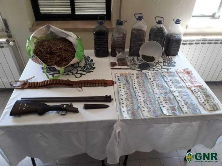 Jornal Campeão: Lousã: Detido pela GNR tinha mais de 1 000 doses de droga