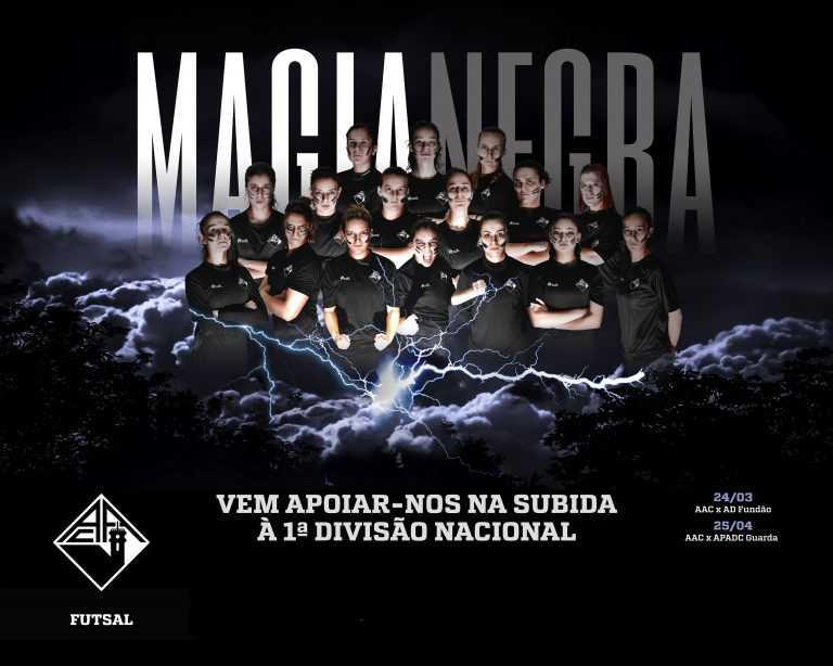Jornal Campeão: Futsal feminino da AAC procura subida à I Divisão Nacional