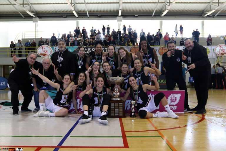 Jornal Campeão: Olivais conquista Taça de Portugal feminina de basquetebol