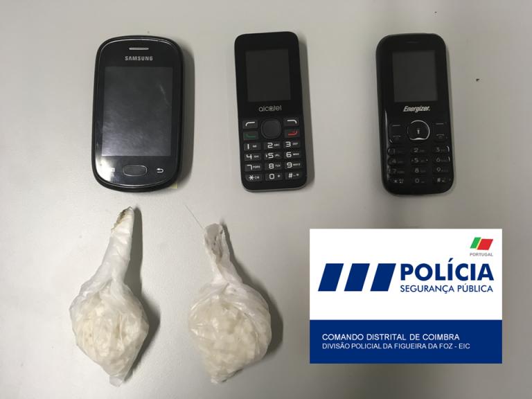 Jornal Campeão: Figueira da Foz: Detido pela PSP com 211 doses de cocaína