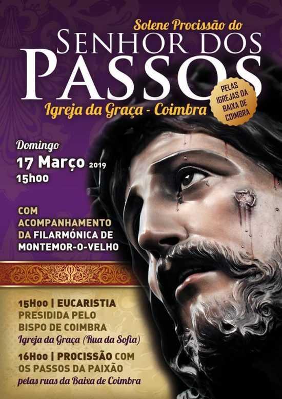 """Jornal Campeão: Procissão dos Passos pela """"Baixa"""" de Coimbra no domingo"""