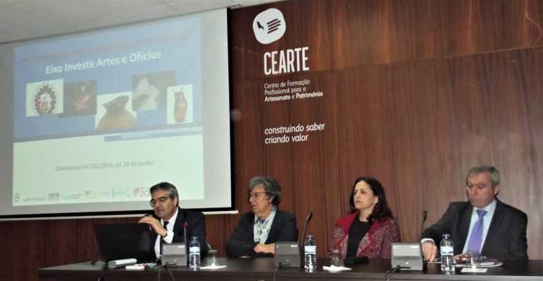 Jornal Campeão: CEARTE e IEFP promove seminário sobre apoios às artes e ofícios
