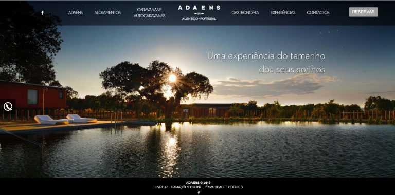 Jornal Campeão: Complexo turístico do Grupo Nabeiro já tem presença online