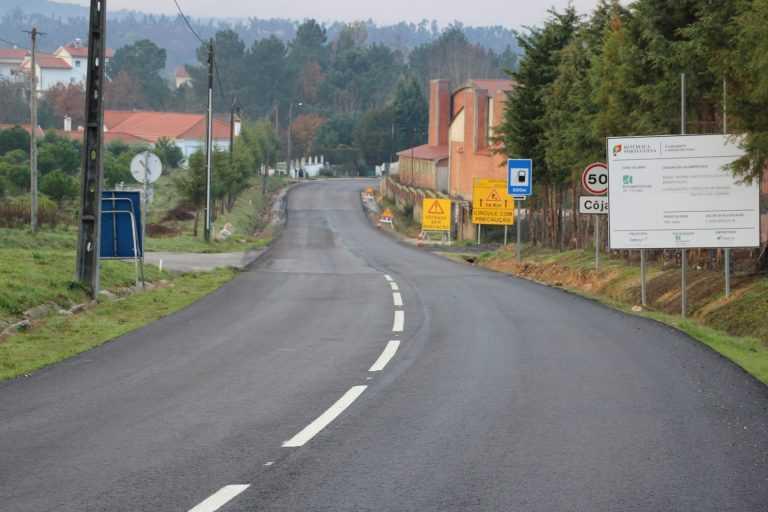 Jornal Campeão: Obras na estrada Arganil-Côja foram suspensas