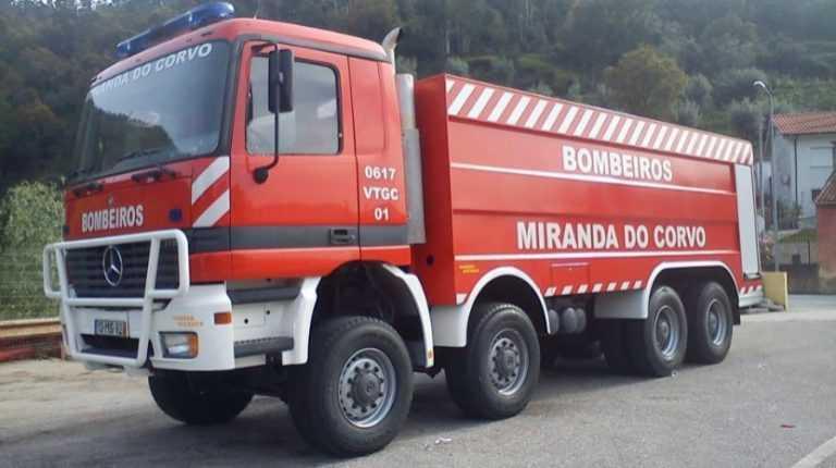 Jornal Campeão: Miranda do Corvo: Incêndio em habitação provoca quatro desalojados