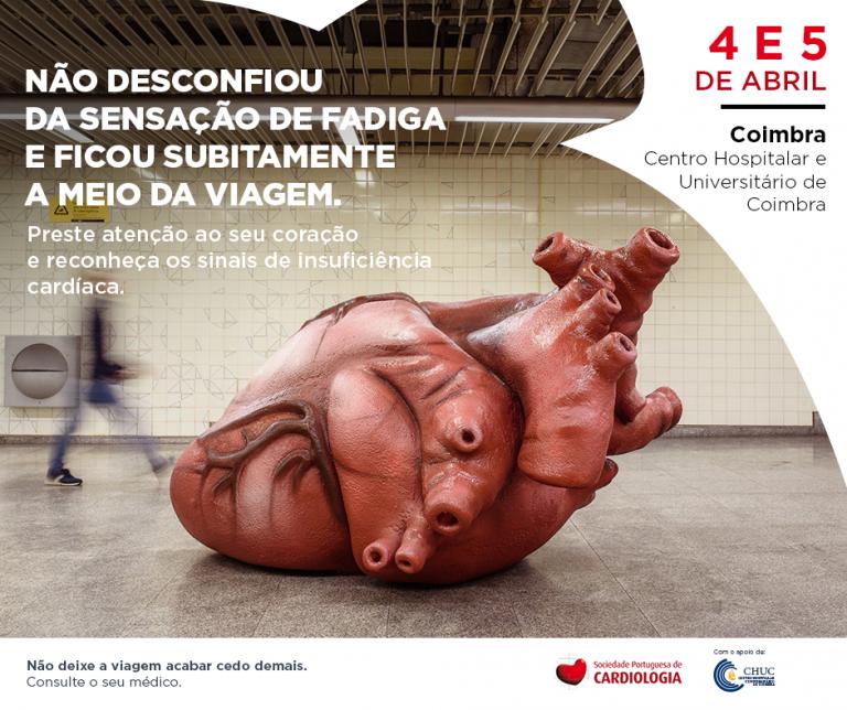 Jornal Campeão: Coimbra: Campanha de sensibilização traz coração gigante ao CHUC