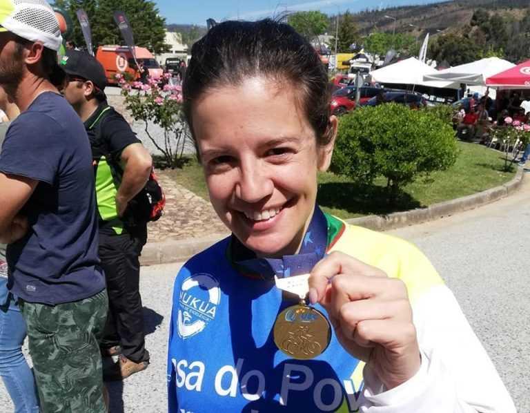 Jornal Campeão: Atleta da Casa do Povo de Abrunheira conquistou bronze em Downhill