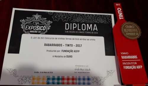 Diploma vinho ADFP