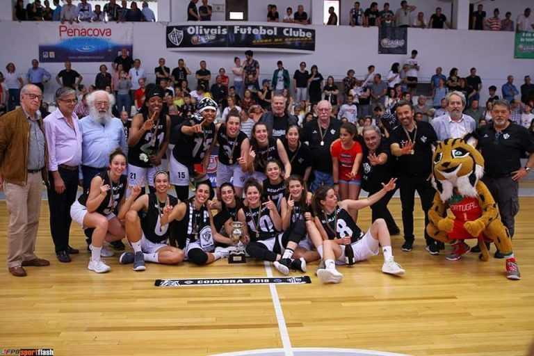 Jornal Campeão: Basquetebol: CMC apoia o Olivais em torneio europeu feminino