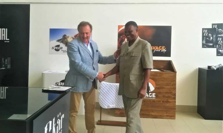 Jornal Campeão: Ministro da República do Congo visitou Fundação Beatriz Santos